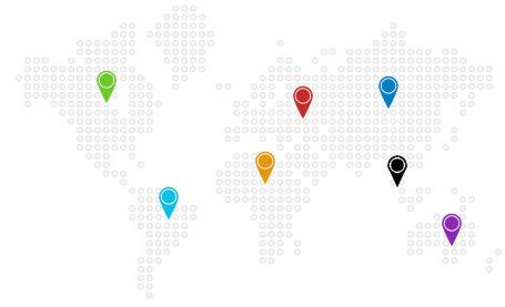 Världskarta över vaccinationer